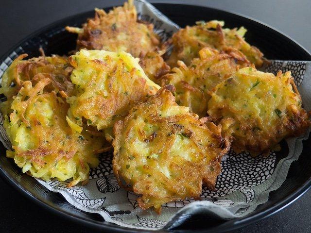 Une recette de galettes de pommes de terre alsaciennes
