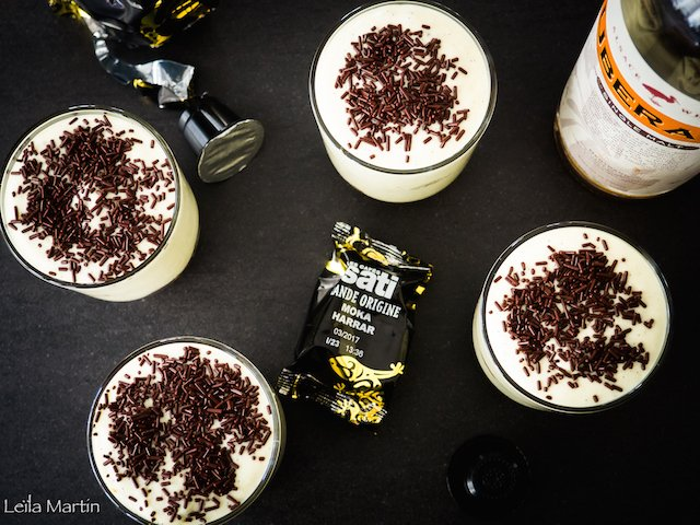 Alsatian Irish tiramisu coffee