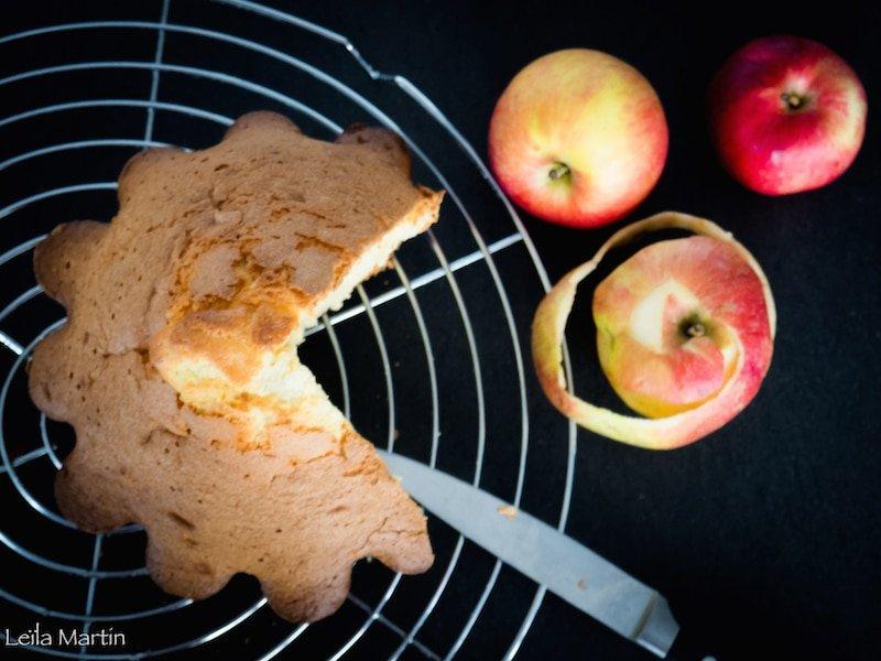 Le gâteau aux pommes bio d'Alsace de tatie Rosette