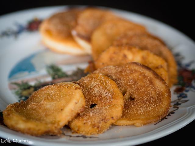 recette des apfelkiechle, beignets aux pommes alsaciens