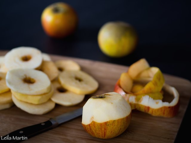 rondelles de pommes pour apfelkiechele