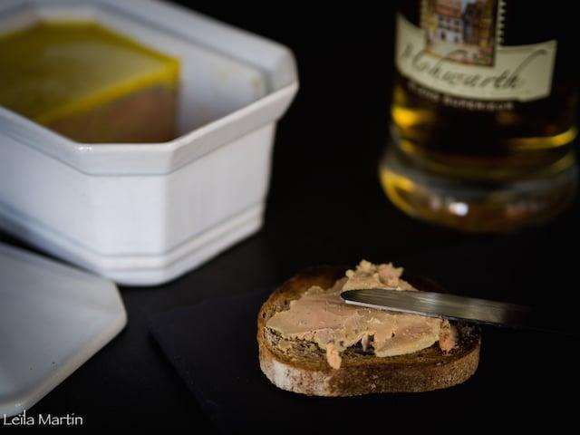 recette de foie gras Feyel mi-cuit en terrine mariné au whisky alsacien et à la vanille