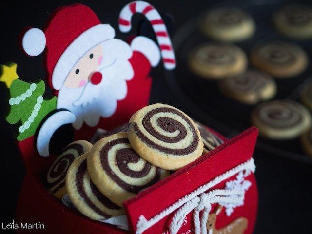biscuits spirales choco-vanille
