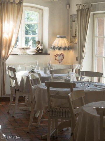 Photo de la salle du restaurant la Cour de Lise à Wiltgottheim