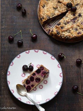 recette de bettelmann (mendiant alsacien) aux cerises noires