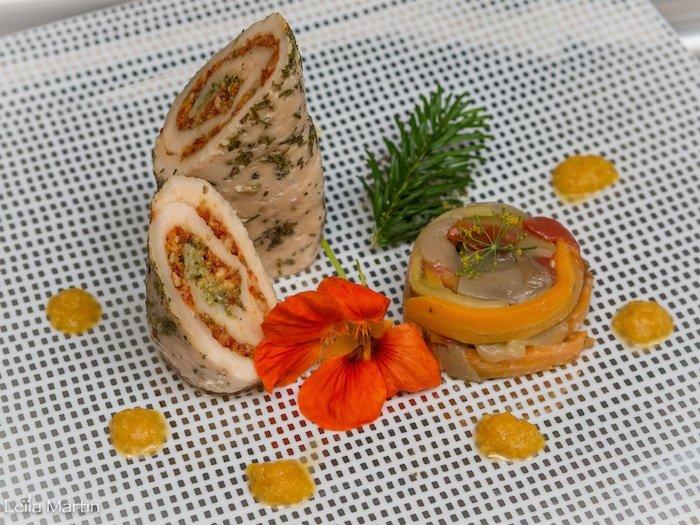 recette de suprême de poulet d'Alsace estival par Didier Scheider