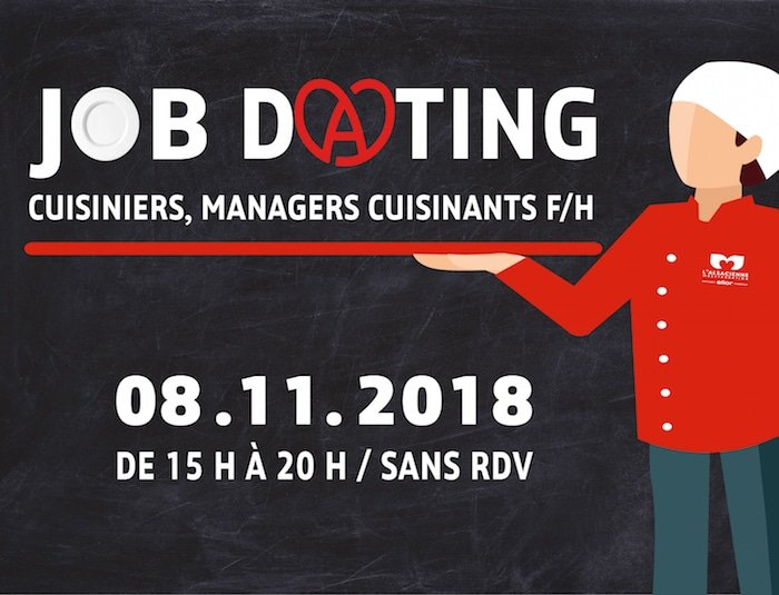 Visuel du Jobdating de L'Alsacienne de Restauration