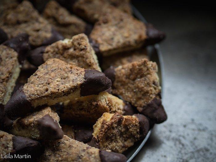 recette de croquettes aux noisettes et au chocolat