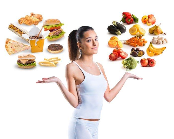 les bons choix alimentaires