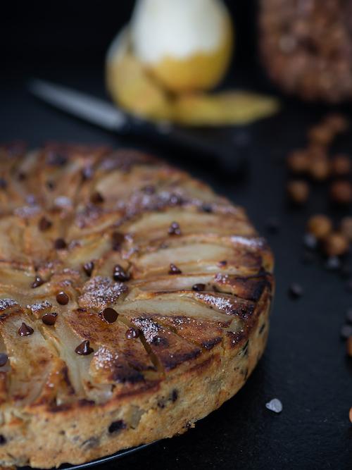 photo Bettelmann aux poires et aux pépites de chocolat